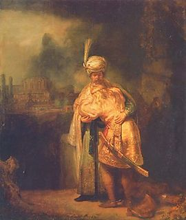 David and Jonathan by Rembrandt